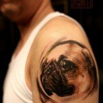Pug tattoos 10
