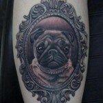 Pug tattoos 14