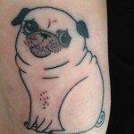 Pug tattoos 15
