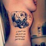 Pug tattoos 18