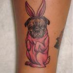 Pug tattoos 19