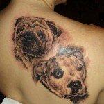 Pug tattoos 21