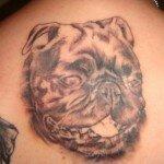 Pug tattoos 23