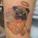 Pug tattoos 25