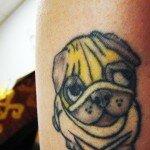 Pug tattoos 27