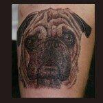Pug tattoos 34