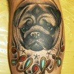 Pug tattoos 35