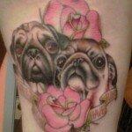 Pug tattoos 38