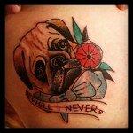 Pug tattoos 39