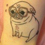 Pug tattoos 4