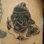 Pug tattoos 42