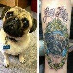 Pug tattoos 43