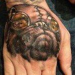 Pug tattoos 6