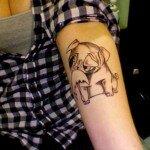 Pug tattoos 7