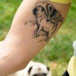 Pug tattoos 8