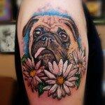 Pug tattoos 9